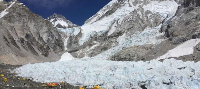 On trek to Everest, a chance to push boundaries, find peace