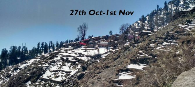 Parvati Valley Backpackers Blueprint in six days