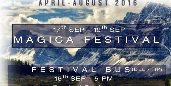 Magica Festival II Magique Bus – 16th Sep II Del – HP