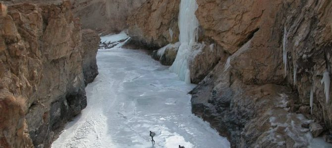 Ladakh Frozen river (chadar) trek
