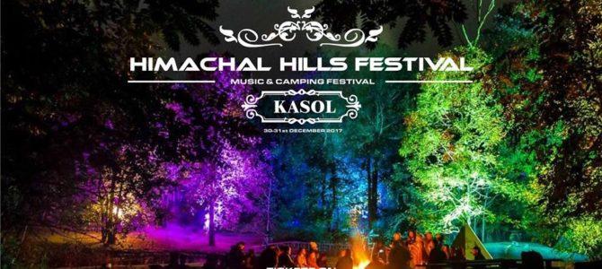 30 Dec. Himachal Hills Music Festival